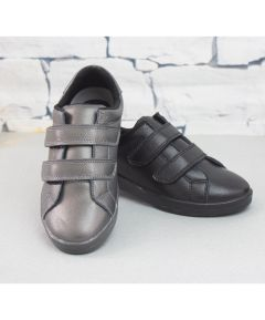 Gina - Leather Double Strap Comfort Shoe