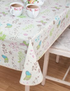 Country Garden Wipe Clean Tablecloth