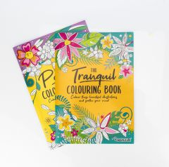 Colouring Books Peaceful/Tranquil - Set of 2