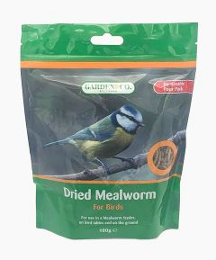 Wild Bird Dried Mealworms - Pack of 2