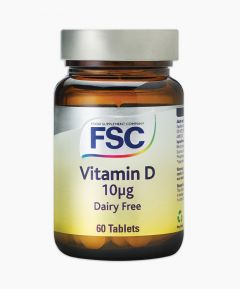 Food Supplement Company Vitamin D 60 Tablets Dairy Free