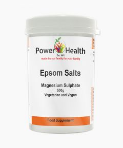 Power Health Epsom Salts Magnesium Sulphate 500g.