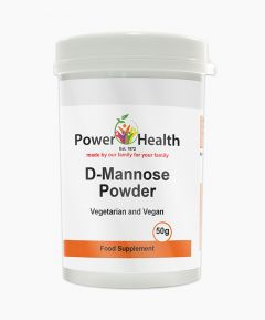 Power Health D-Mannose Powder 50g.