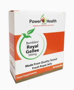 Power Health Bumbles Royal Gellee 500mg 30 Capsules.