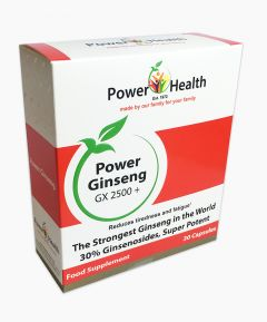 Power Health Power Ginseng GX 2500+ 30 Capsules.