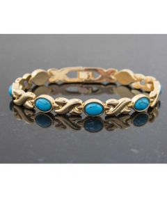 Magnetic Bracelet - Turquoise