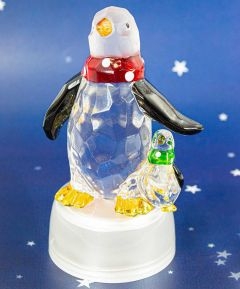 Light Up Penguin Mum and Baby