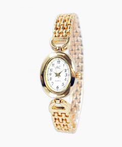 Gold Effect Bracelet Watch
