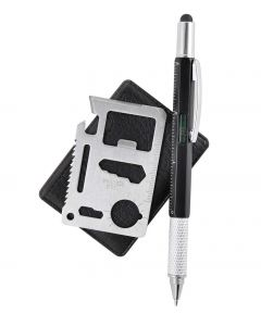 Multi Function Tool Card and Pen