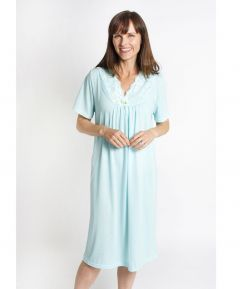 V Neck Jersey Nightdress