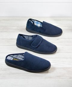 Chase Men's Suede Effect Slipper