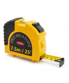 AA Tape Measure with Built-In Torch and Spirit Level 7.5m
