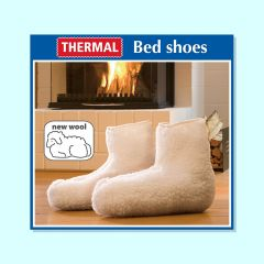 Wool Mix Thermal Bed Shoes