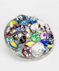 Colourful Brooch