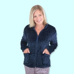 Ladies Fleece Bed Jacket