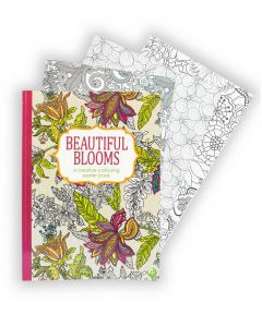 Creative Colouring Book - Beautiful Blooms
