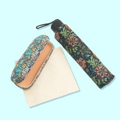 William Morris Umbrella & Glasses Case Set
