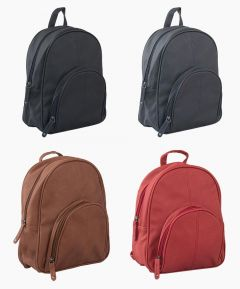 Ladies Faux Leather Backpack