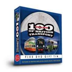 100 Years of British Transport Gift Tin (5xDVDs)