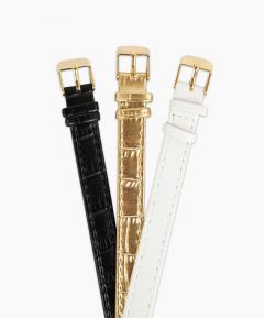 Set of 3 watch straps (compatible with 62502)