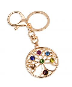 Tree of Life Bag Charm