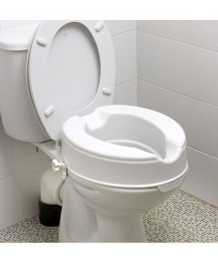 "4"" Raised Toilet Seat W/O Lid"