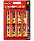 Pack of 8 Fly Catchers