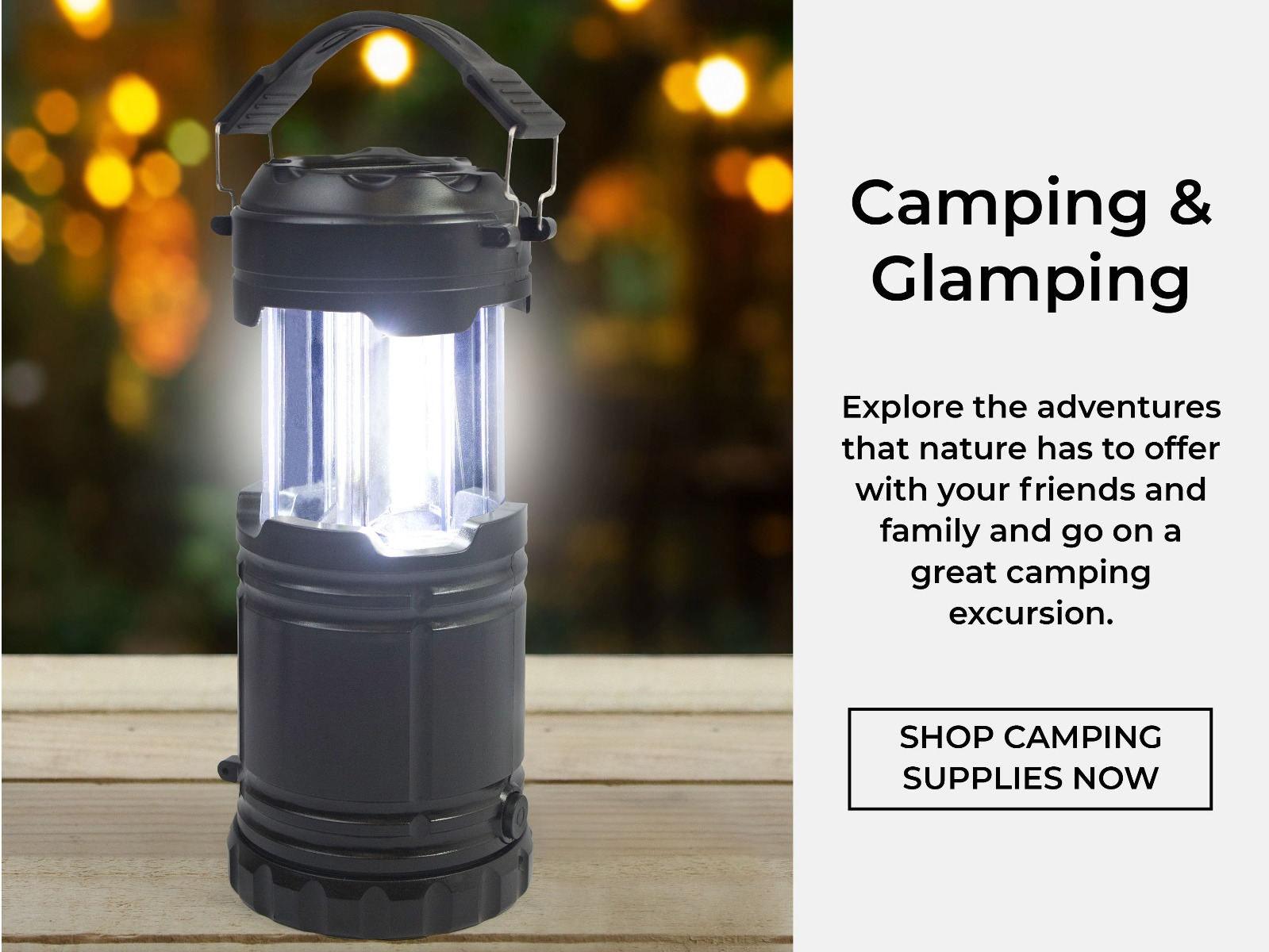 Shop Camping Supplies Now