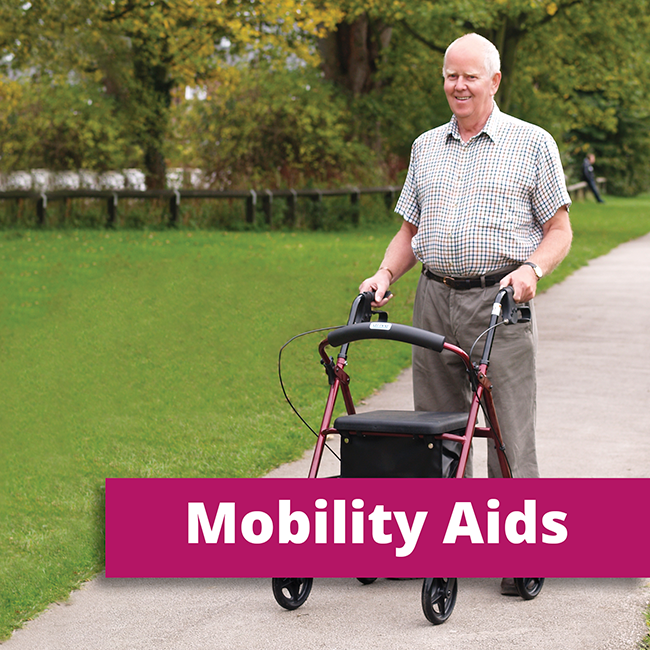 Shop our range of mobility aids