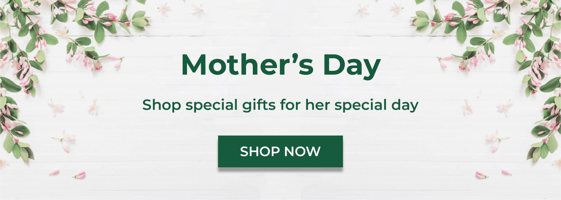 Shop special gifts for her special day