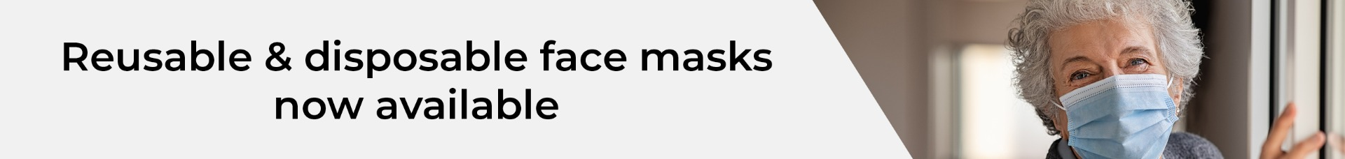 Face Masks Now Available